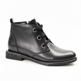 Ботинки La Pinta 0414-788 02 BLACK LEATHER