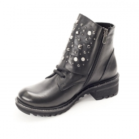 Ботинки La Pinta 0179-2224 621 BLACK LEATHER