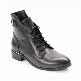 Ботинки La Pinta 0179-3001 621 BLACK LEATHER