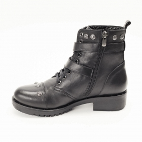 La Pinta 0279-16072 S.A BLACK LEATHER