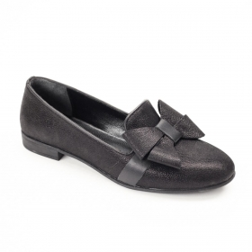 La Pinta 0461-1805-9620 101 BLACK SATIN LEATHER