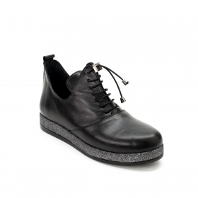Полуботинки La Pinta 0041-5117 50 BLACK LEATHER